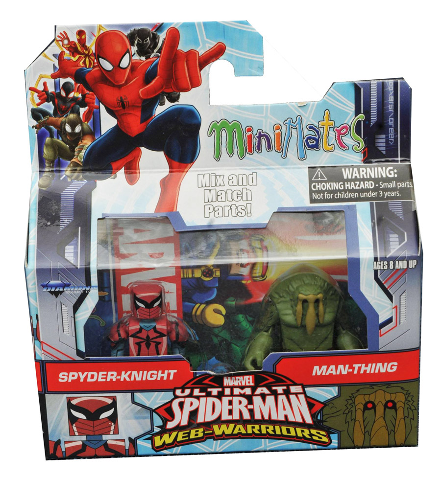 Spyder-Knight & Man-Thing Walgreen's Exclusive Minimates
