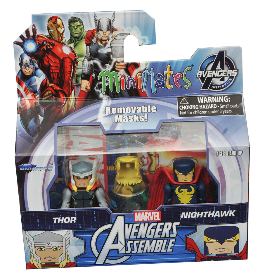 Thor & Nighthawk Walgreen's Exclusive Minimates