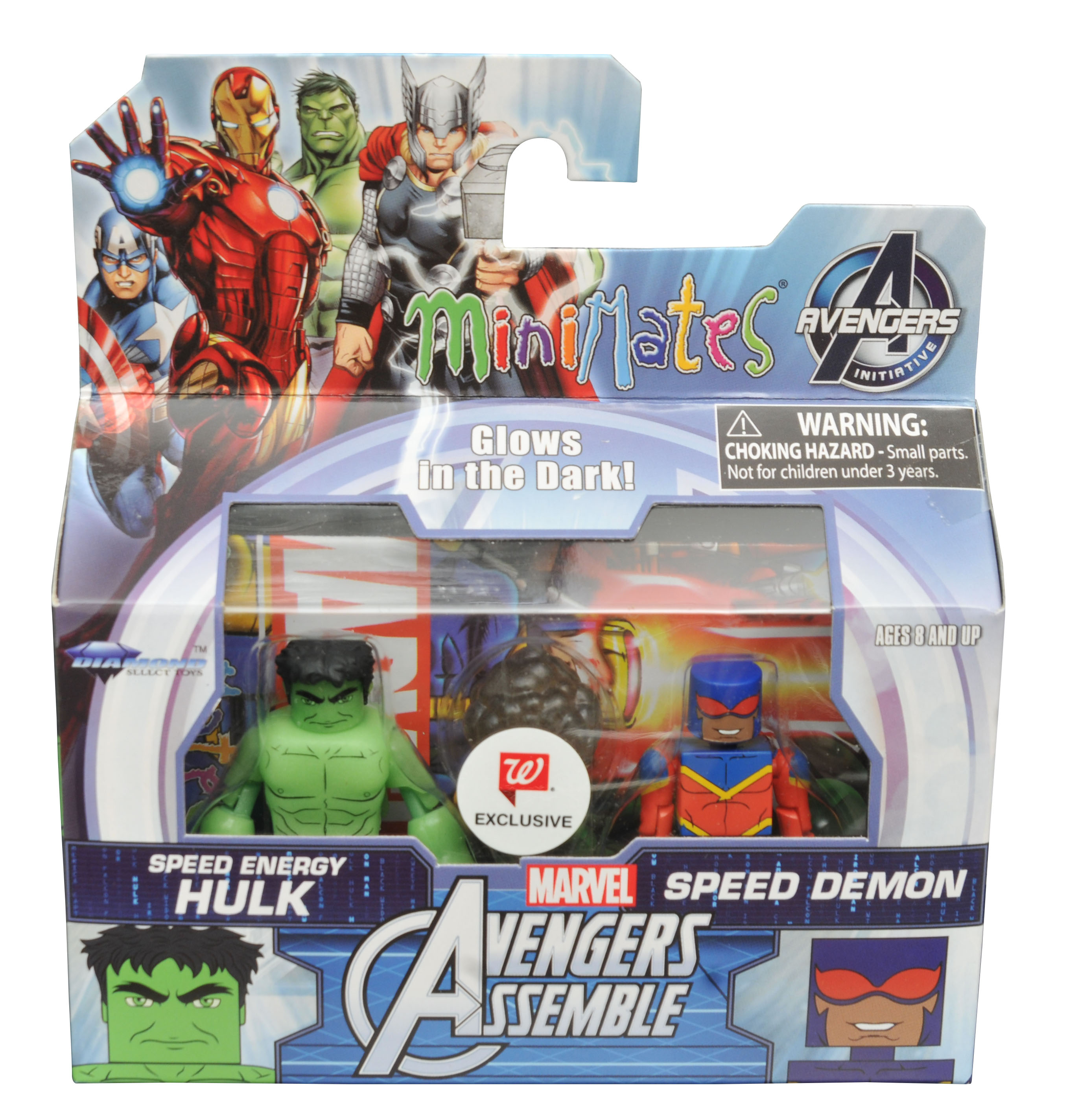 Speed Energy Hulk & Speed Demon Walgreens Minimates