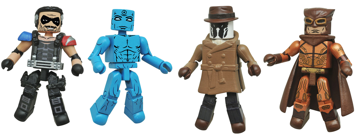 Watchmen Minimates Series 1 Box Set