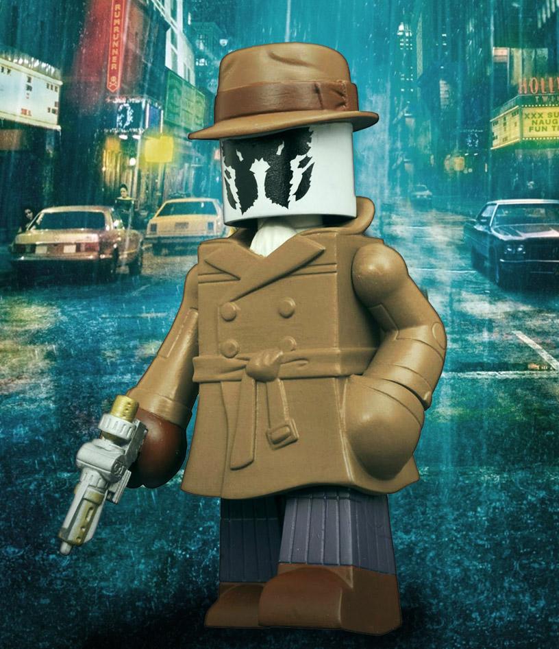 Watchmen Rorschach Vinimate Vinyl Figure