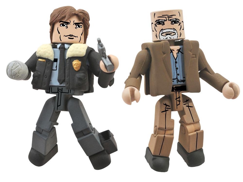 Constable Rick & Douglas Walking Dead Minimates