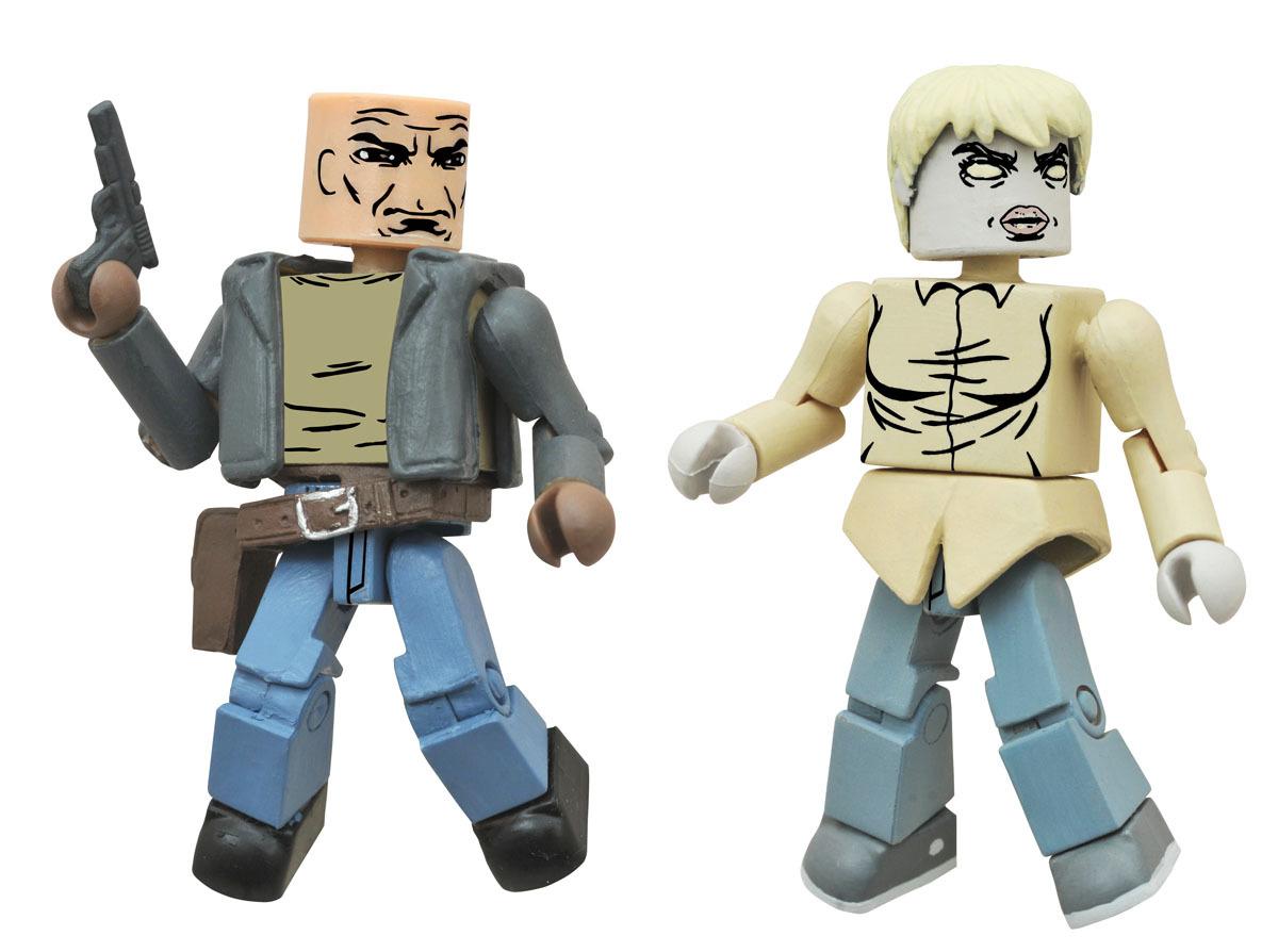 Derek & Zombie Holly Minimates Variant Set