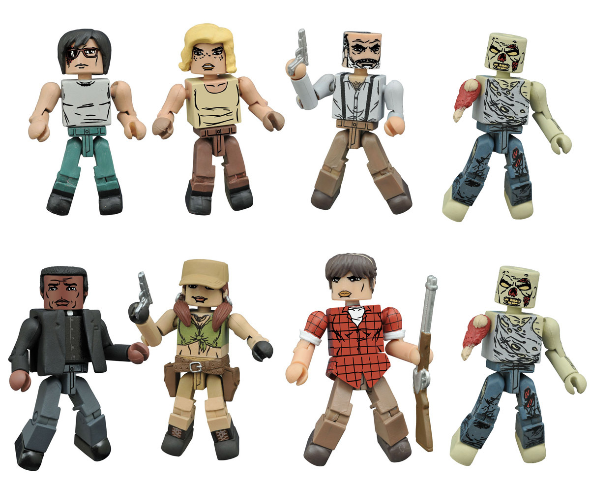 Walking Dead Minimates Series 8 Full Set of 8