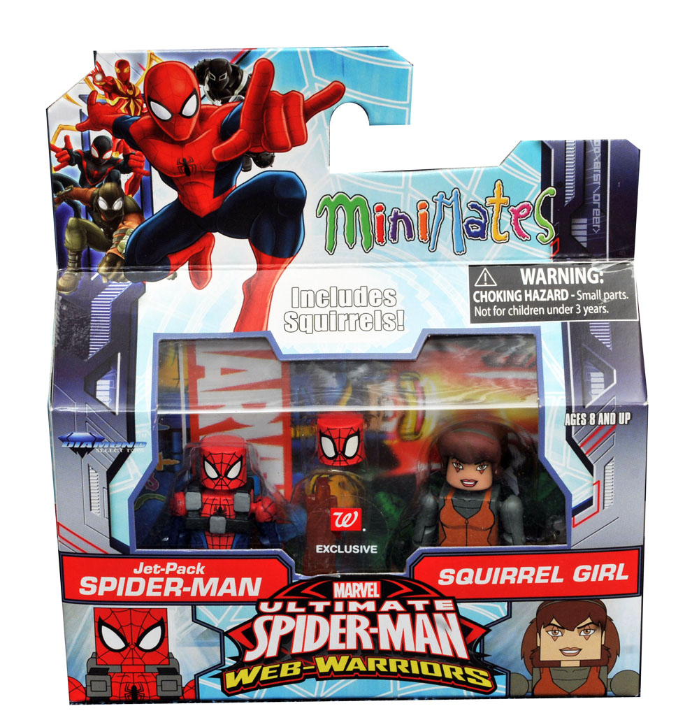 Jetpack Spider-Man & Squirrel Girl Walgreens Minimates