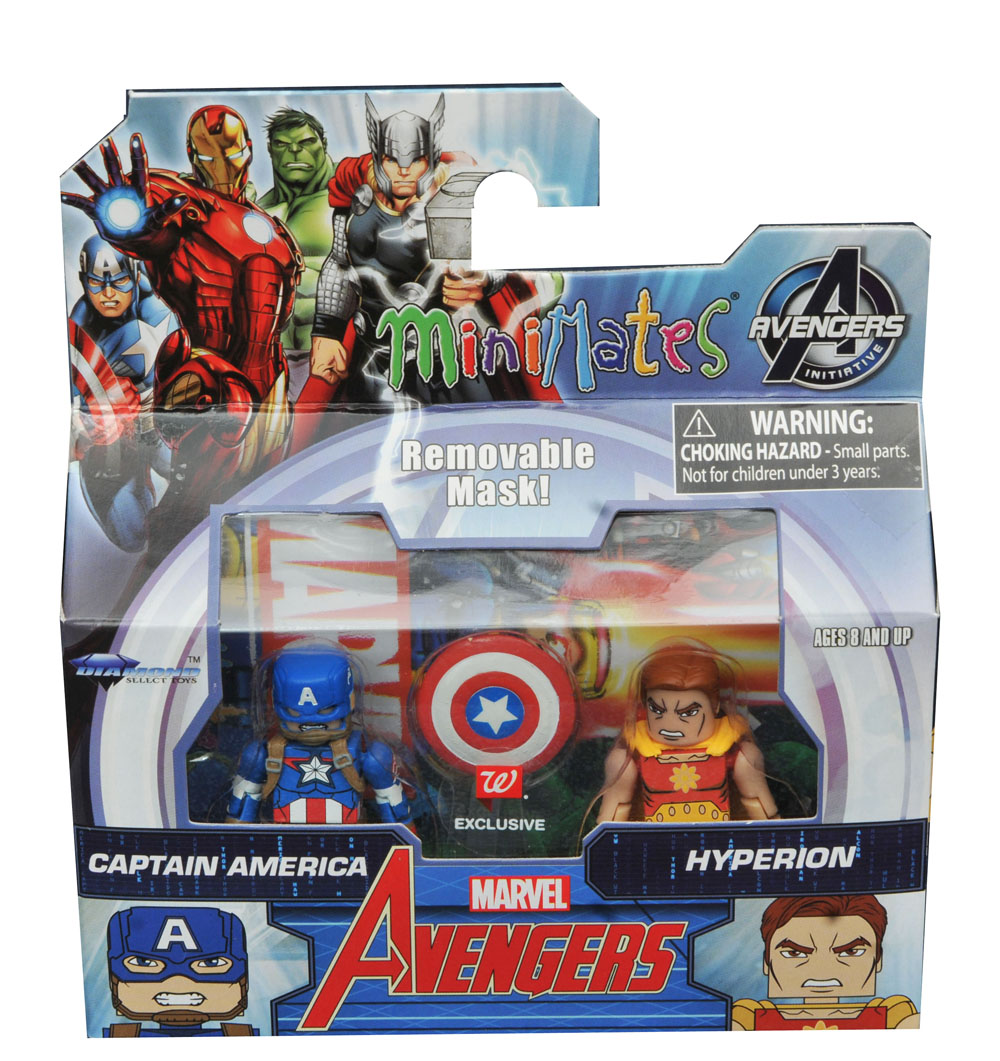 Captain America & Hyperion Walgreens Minimates - LOOSE ONLY