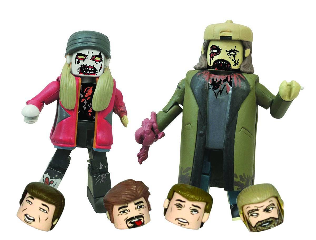 Zombie Jay & Silent Bob Minimates 2-Pack