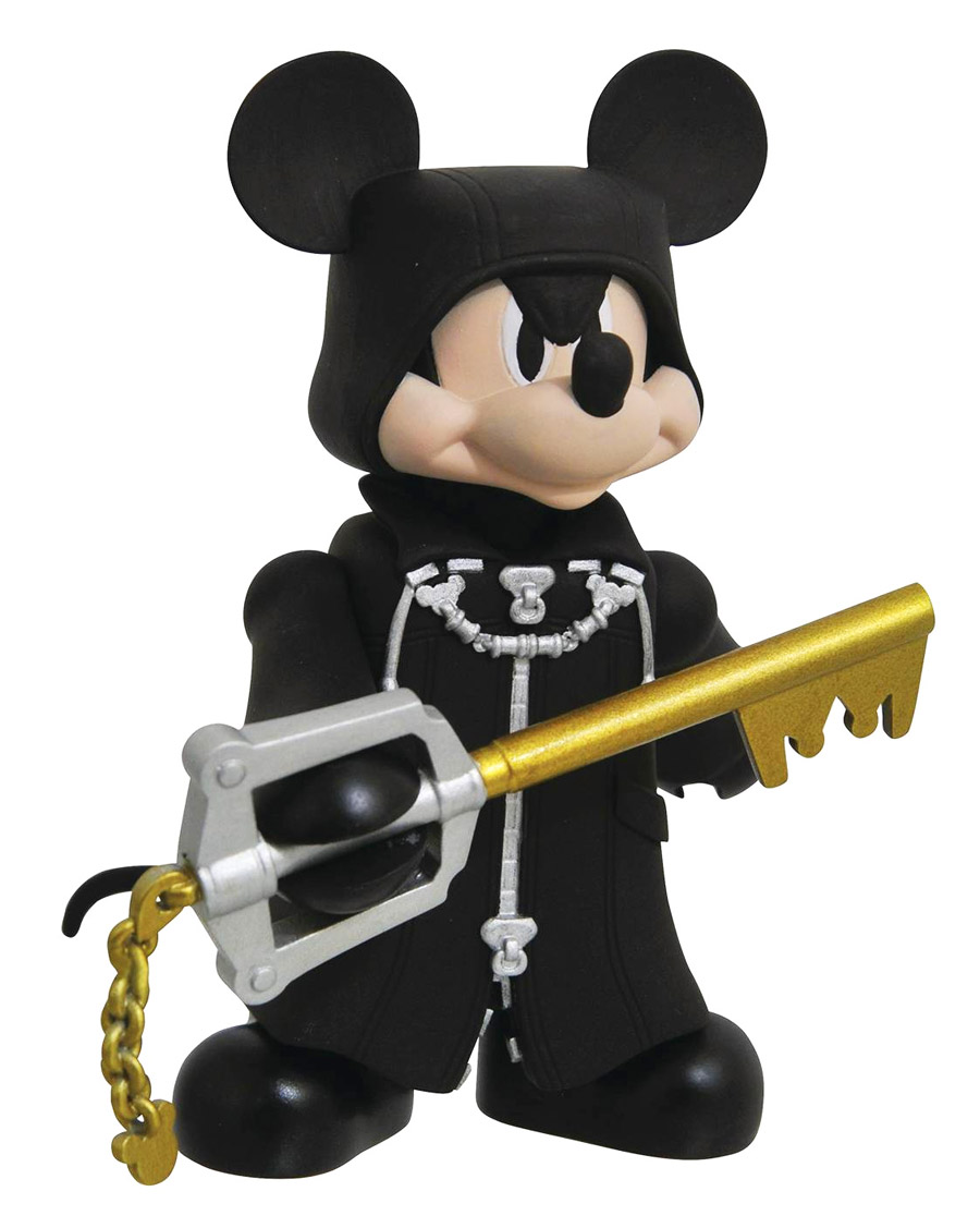 Kingdom Hearts Organization XIII Mickey Vinimate Vinyl Figure