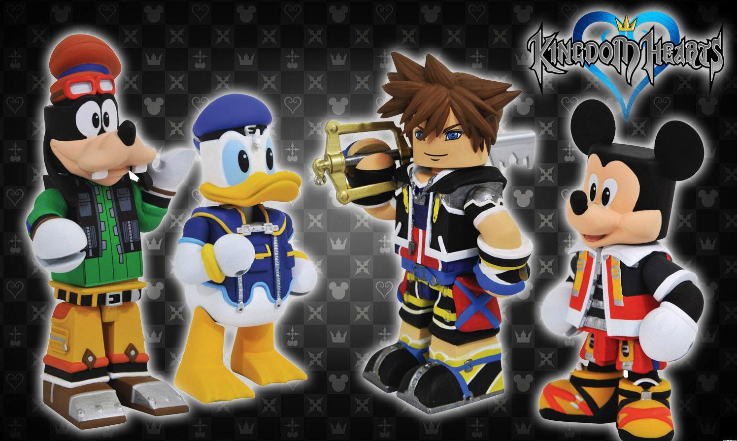 Sora Kingdom Hearts Vinimate Vinyl Figure