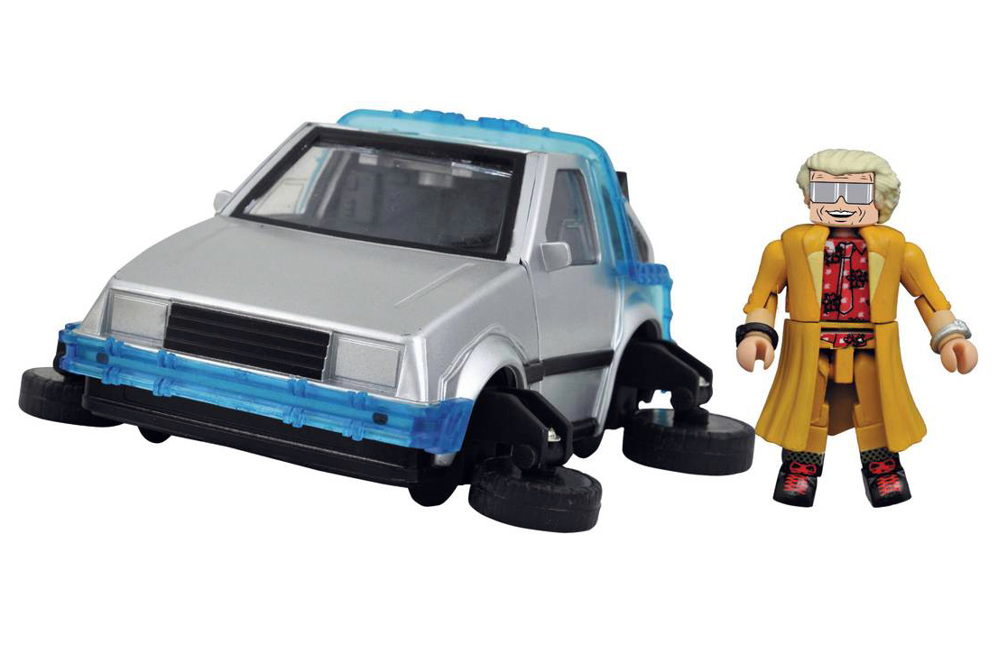 Back To The Future Minimates Including Marty Mcfly And Doc